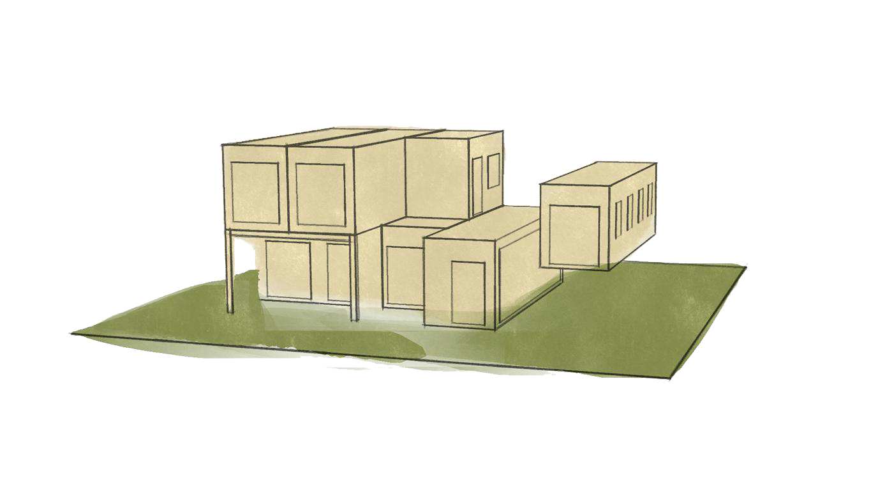 Bebauungsmöglichkeiten - Modulhaus Österreich - Modularis Novum