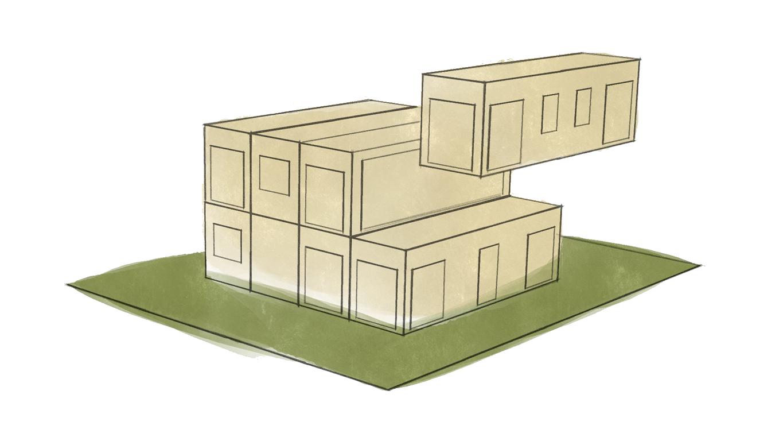 Bebauungsmöglichkeiten - Modulhausbau - Modularis Novum